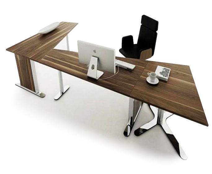 ANSA interior designers in Delhi is showing amazing computer table and chair image