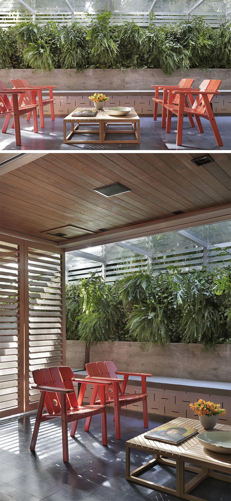 Apartment's Interior Design Featuring Wood Accents 1