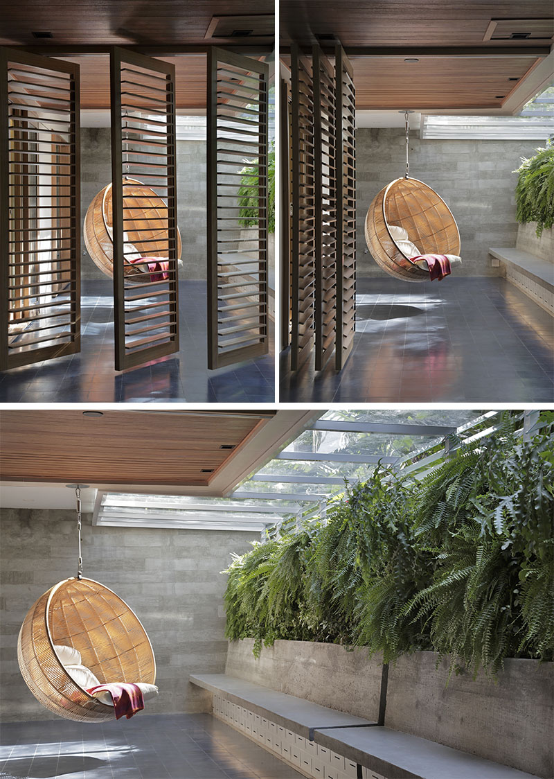 Apartment's Interior Design Featuring Wood Accents 2
