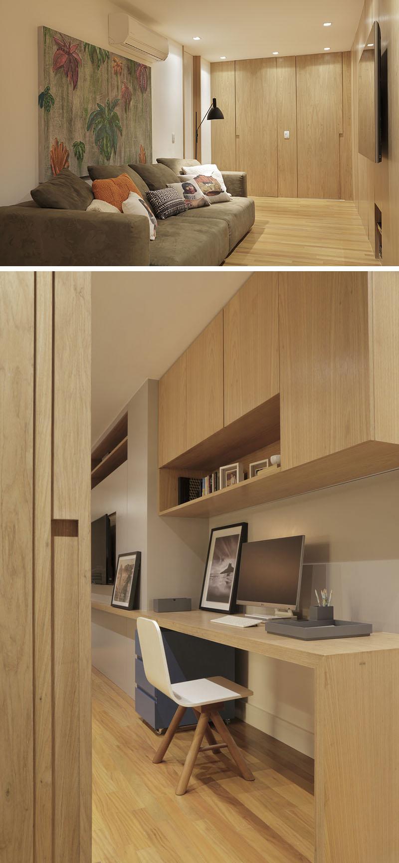Apartment's Interior Design Featuring Wood Accents 7