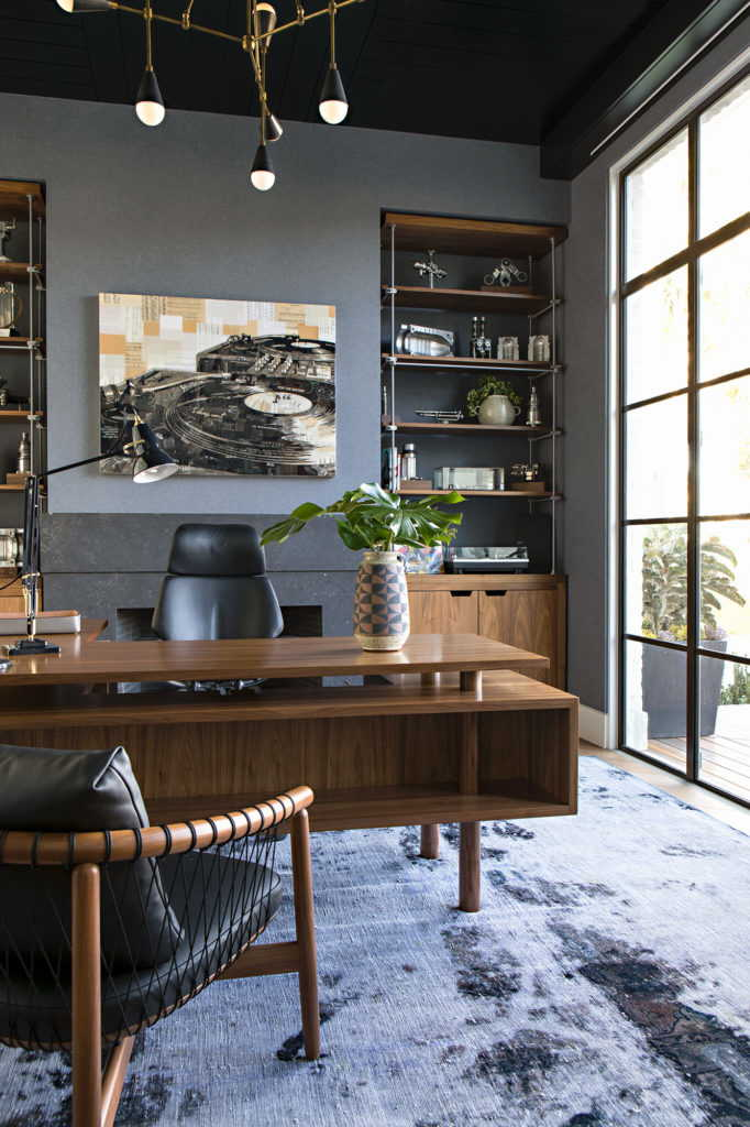 Home office with modern look