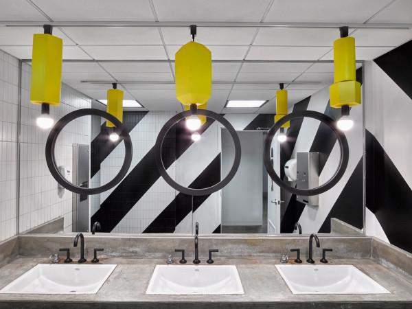 Office washroom Interior Design