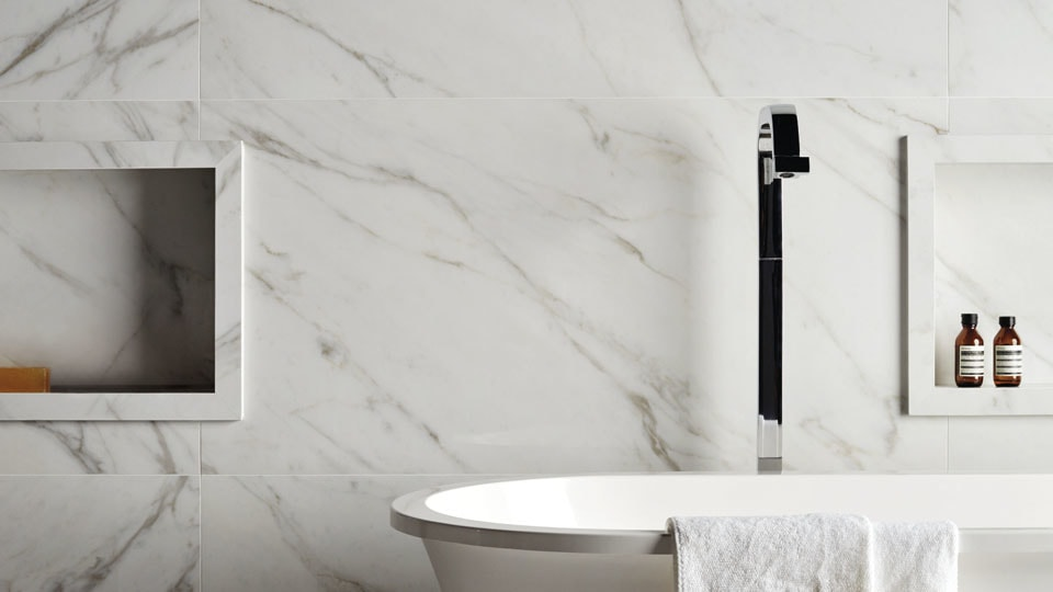 Marmi classic marble bathroom flooring