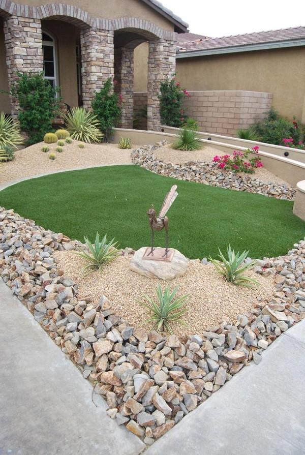 Beautiful Rock Garden In Your Home (16)