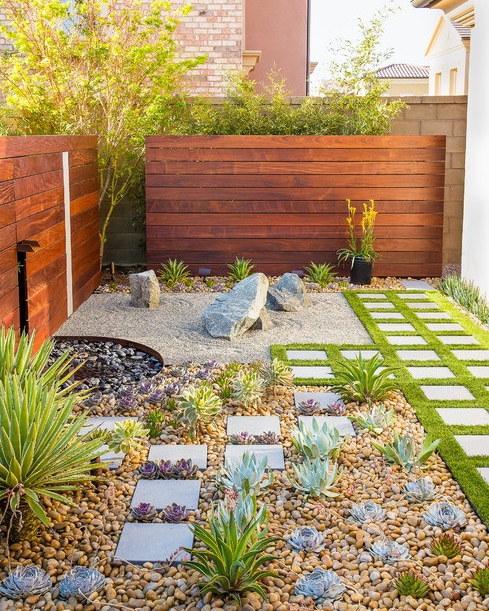 Beautiful Rock Garden In Your Home (19)