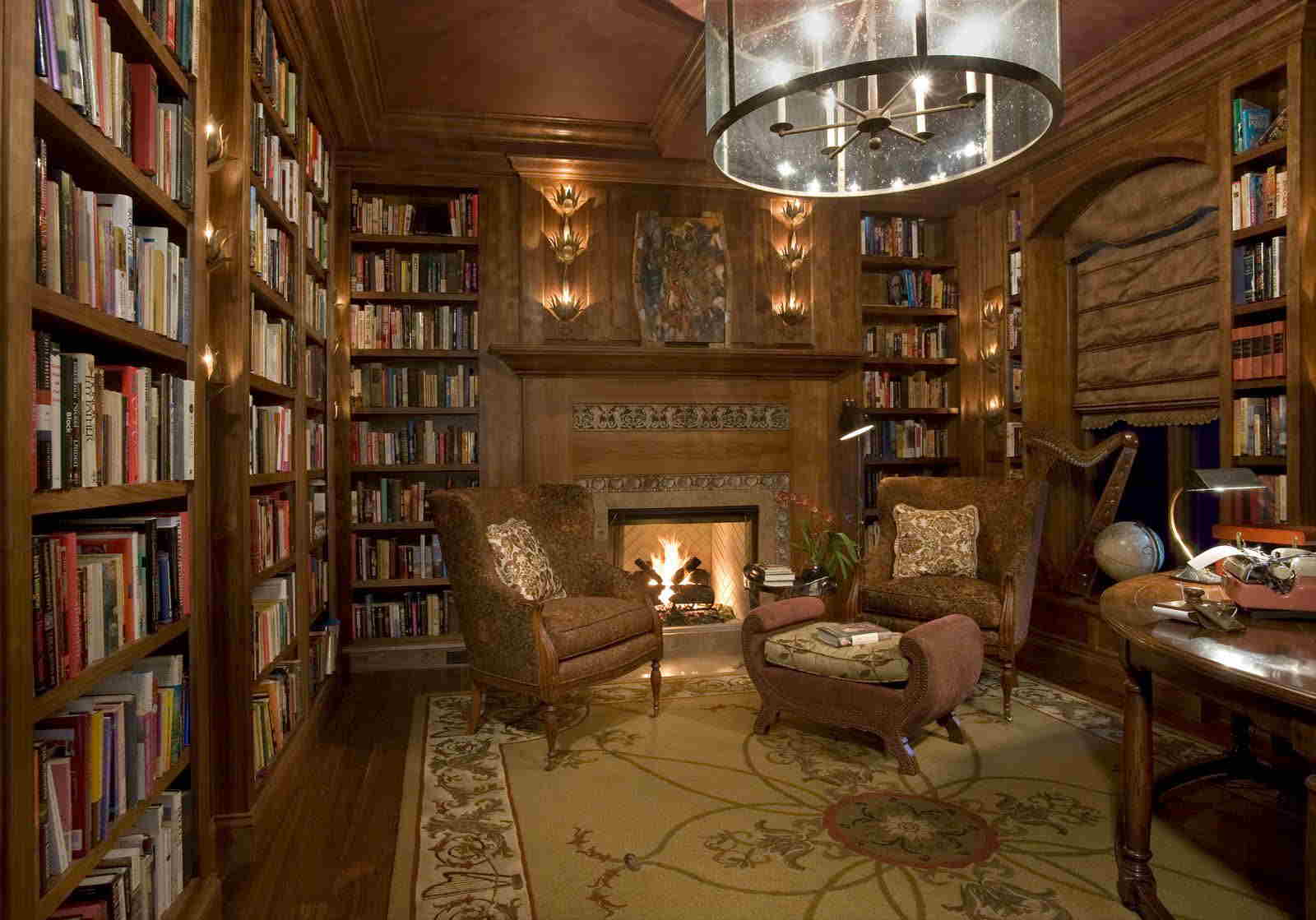 Home Library Decor (2)