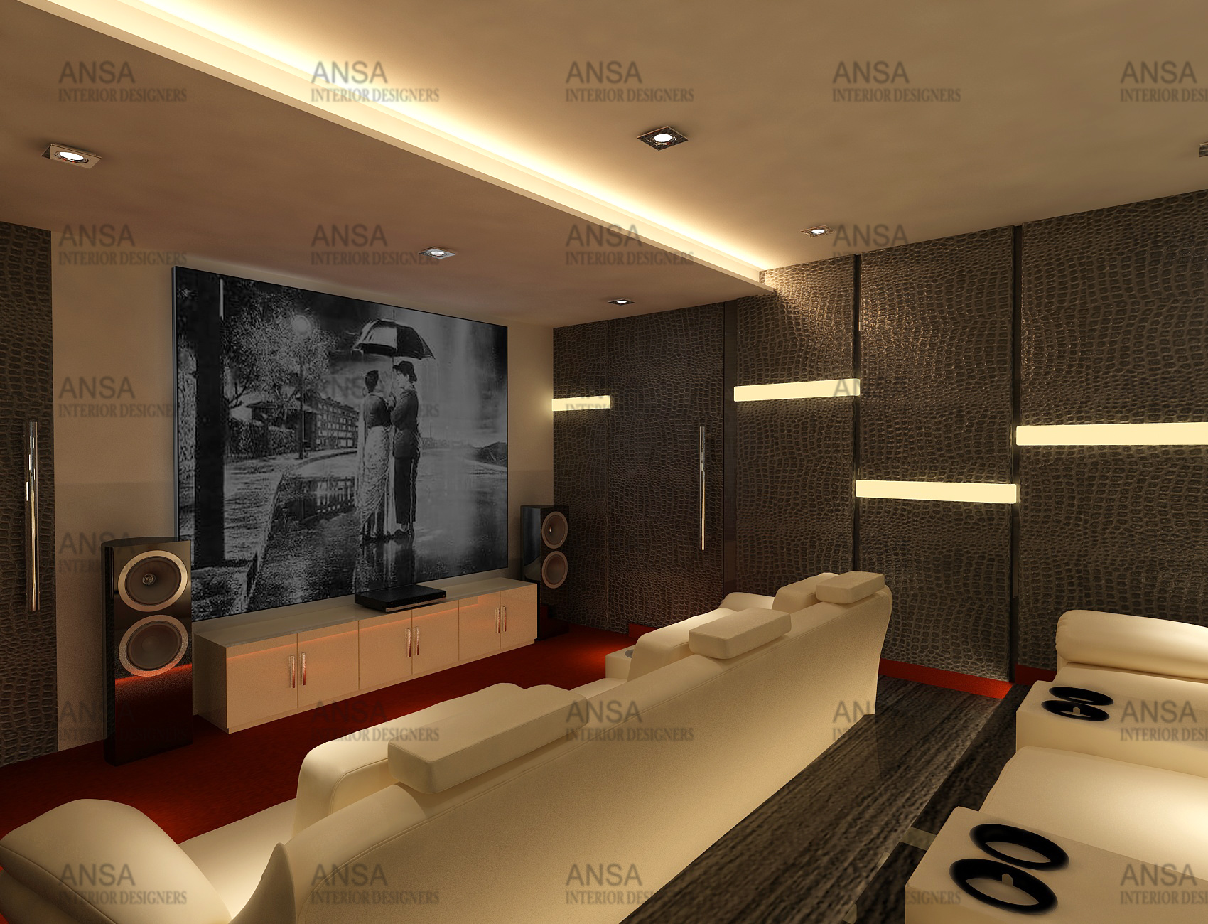 How can acoustics be incorporate in our home