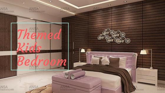 Themed kids bedroom