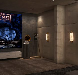 Home theater design at vasant Vihar.