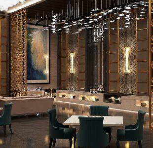Restaurant design by Ansa at Agra.