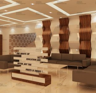 Shriram World School interior design, dwarka