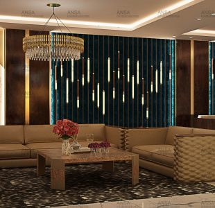 Shivaji enclave drawing room ansa interiors