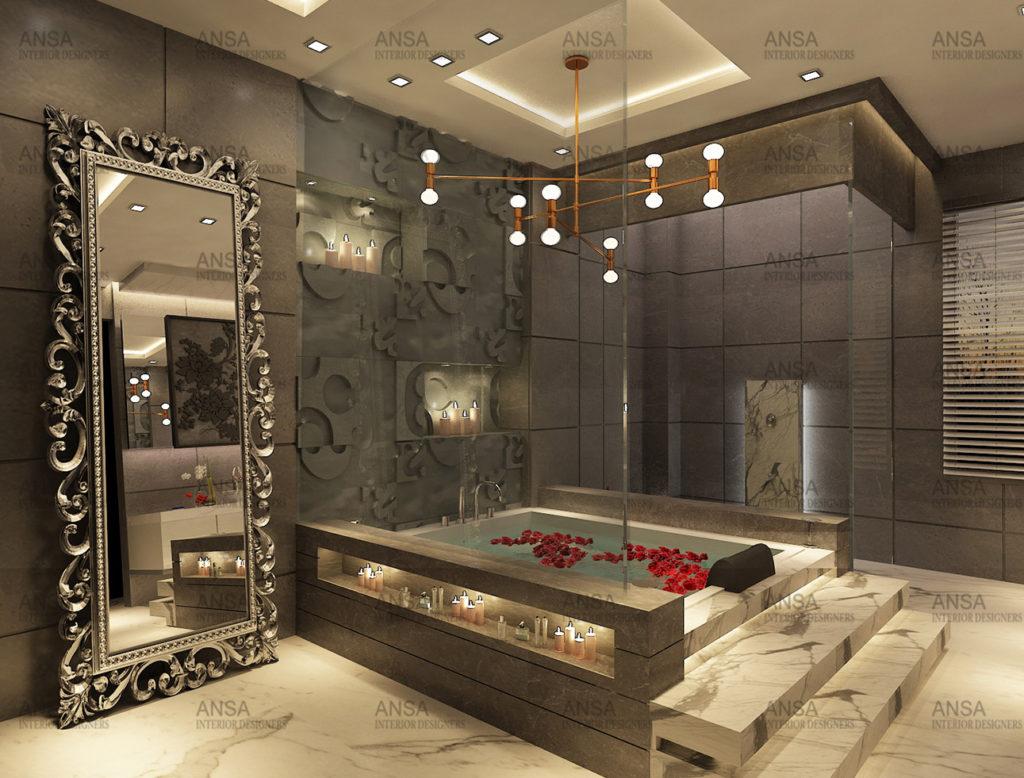Five Trends In Luxury Bathroom