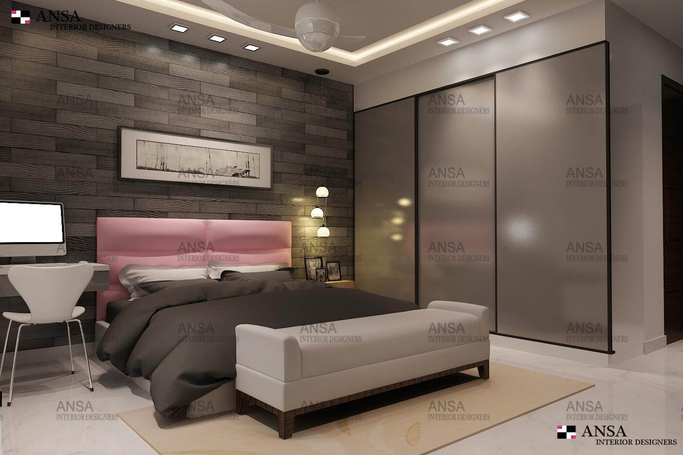 Bedroom Interior Design Ansa Interiors