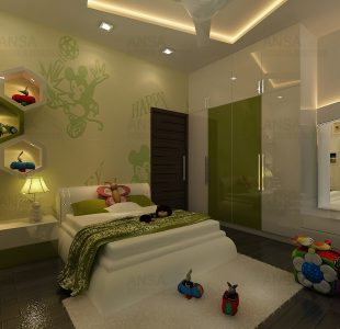 kids bedroom interiors by ansa