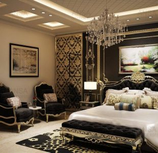 luxury bedroom design by ansa
