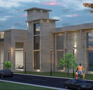 Corporate office design at Panipat.