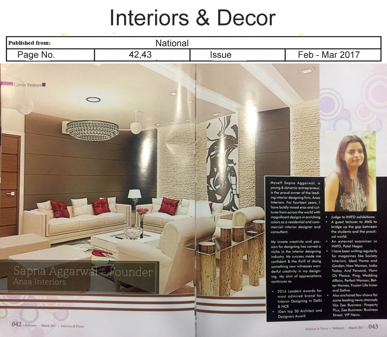 minimalistic interior design by ansa