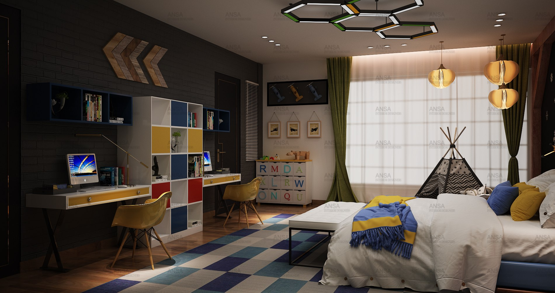 luxury bedroom interior shivaji enclave mr. saurabh agarwal